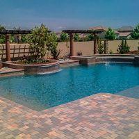 Geometric Swimming Pool 19-01