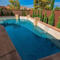 Geometric Swimming Pool 25-01