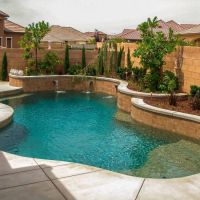 Pool Water Feature 12-01