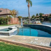 Pool Water Feature 16-01