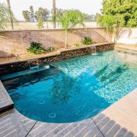 Pool Water Feature 17-01