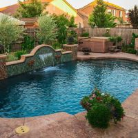 Pool Water Feature 21-01