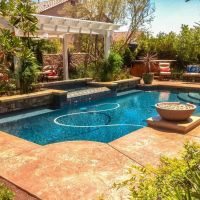 Pool Water Feature 27-01