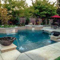 Geometric Swimming Pool 14-01