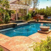 Geometric Swimming Pool 7-01